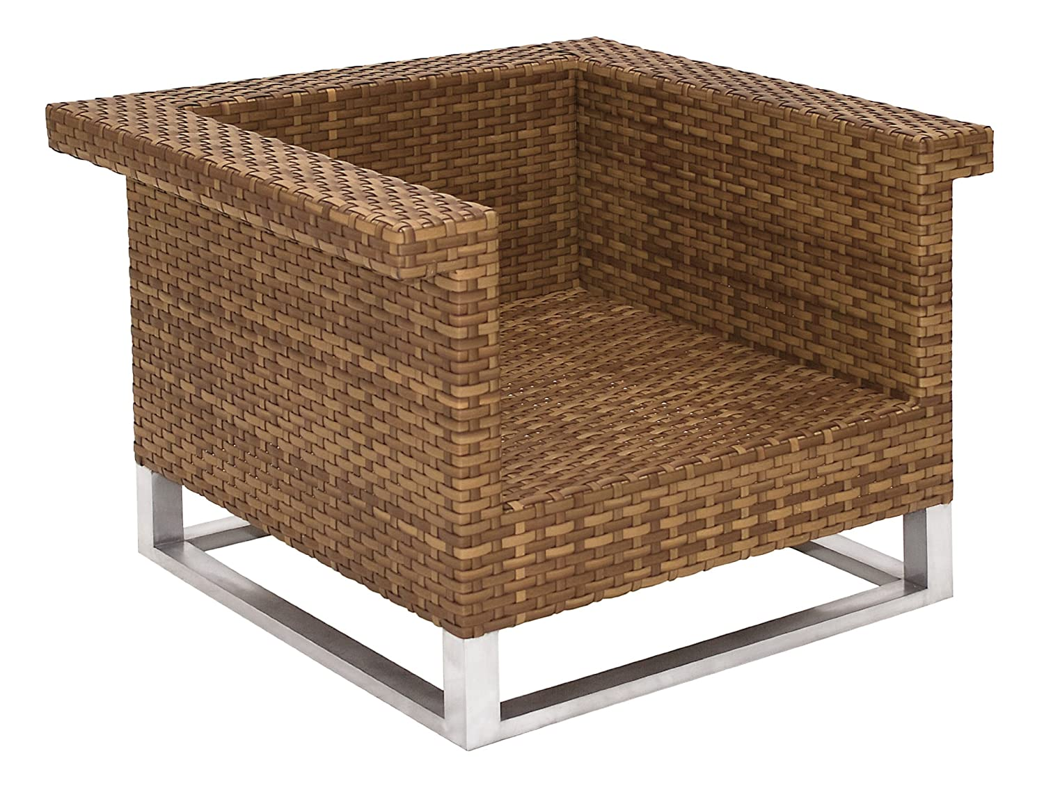 MBM 68.00.0304 Lounge Sessel Madrigal, tobacco