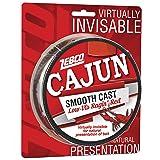 Lb//Test Spool 6 Lb//Test Low-Viz Cajun Line Zebco Cajun Low-Vis Fishing Line 1//4