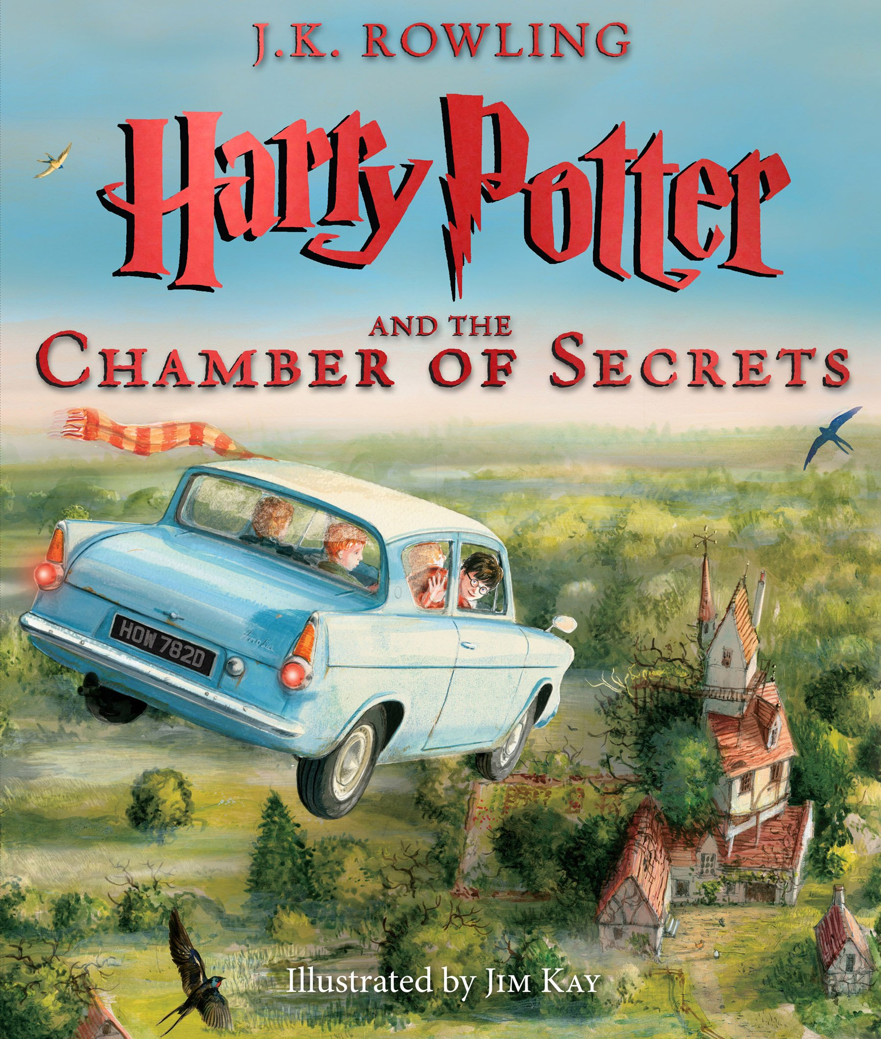 Harry Potter and the Chamber of Secrets: The Illustrated Edition (Harry Potter, Book 2) ISBN-13 9780545791328