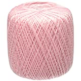 Coats Crochet 154-401 Aunt Lydia's Crochet, Cotton Classic Size 10, Orchid Pink (Color: Orchid Pink)