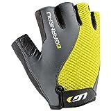 Louis Garneau Men's Air Gel + Bike Gloves, Sulfur Spring, M