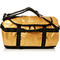 The North Face Base Camp Large Duffel Bag (24K Gold/TNF Black)