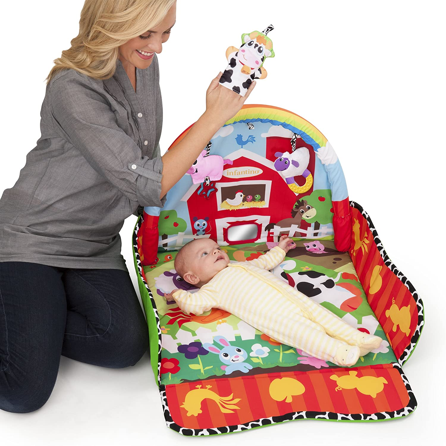 Infantino Puppet Grow with Me Gym