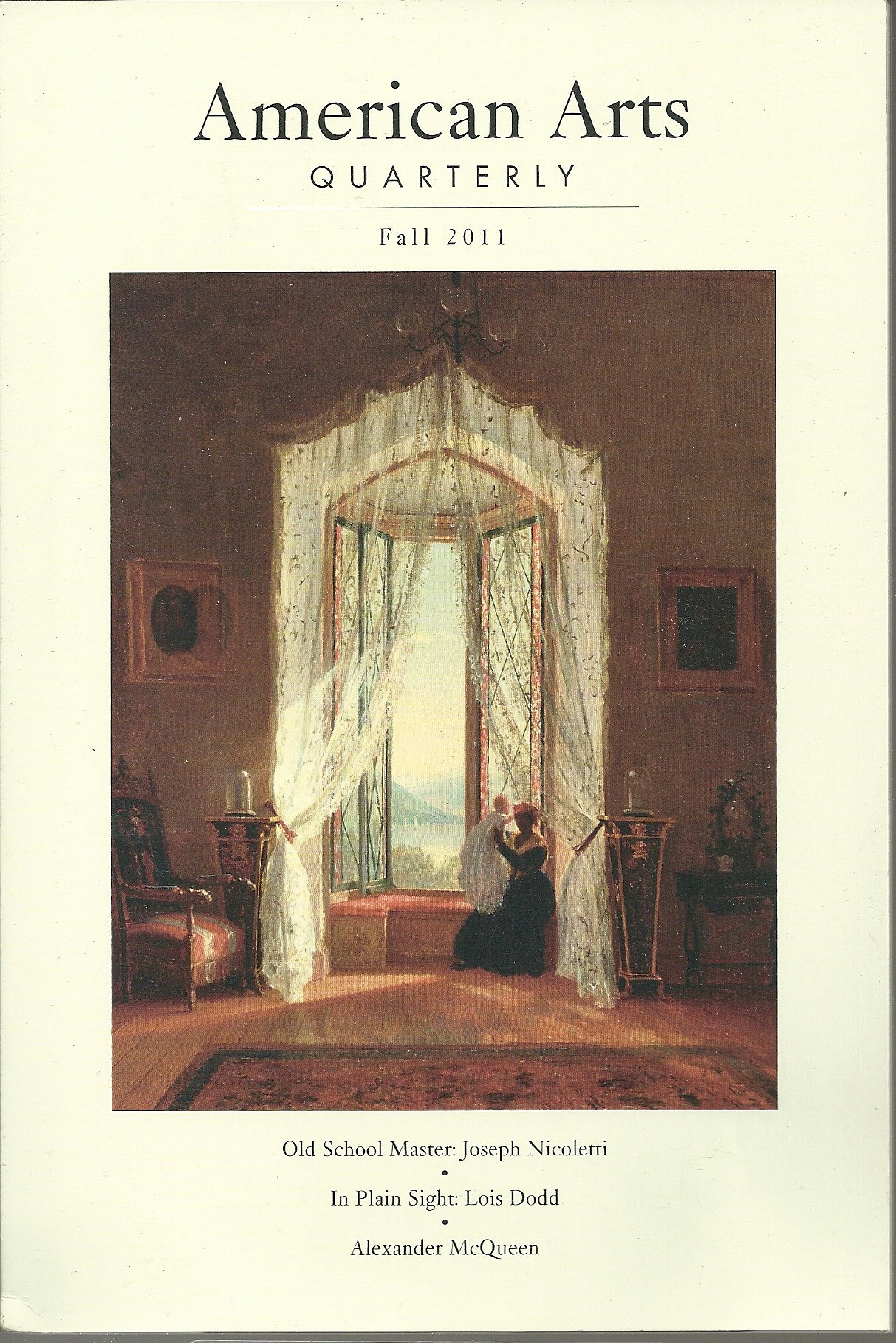 American Arts Quarterly, Fall 2011, Volume 28, Number 4, Cooper, James F. (editor)