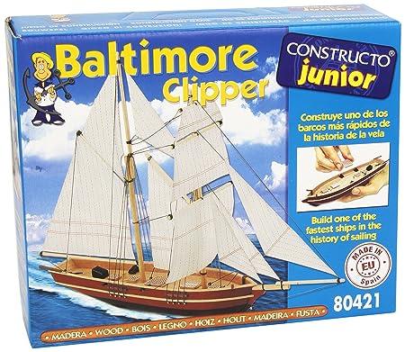 Constructo - 80421 - Construction et Maquette - Bateau - Baltimore Clipper