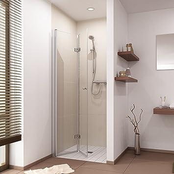 Duschtur Duschabtrennung Falttur Dusche Nischentur B 75 110cm H