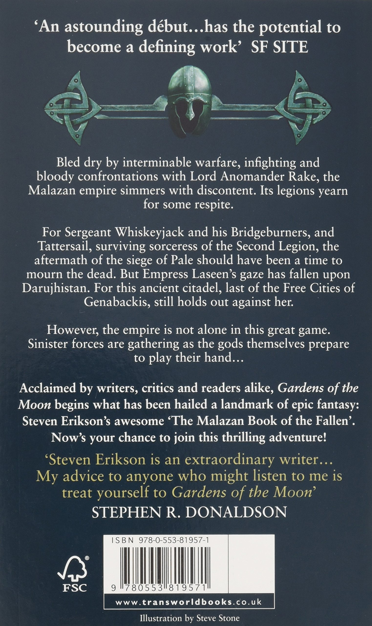 Buy Gardens Of The Moon: (malazan Book Of The Fallen 1) (the Malazan Book  Of The Fallen) Book Online At Low Prices In India  Gardens Of The Moon: ( Malazan