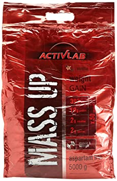Activlab MASS UP - Vanille, 1er Pack (1 x 5 kg)