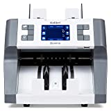 Domino Business Grade Bill Counter, Sorter and Reader with Counterfeit Detection