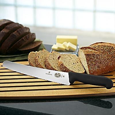 Victorinox Serrated Bread Knife with Fibrox Handle, 45547 – FFP Via Amazon