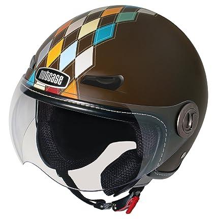 NUTCASE moto nMTO - 1020 mat moderne argyle casque de moto
