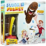 Mattel Flushin' Frenzy Game – Pop the Poop! (Toilet Included) Ages 5 and Up