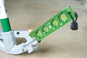 Greenlee L77 Mini Magnetic Bubble Level (Color: Green)