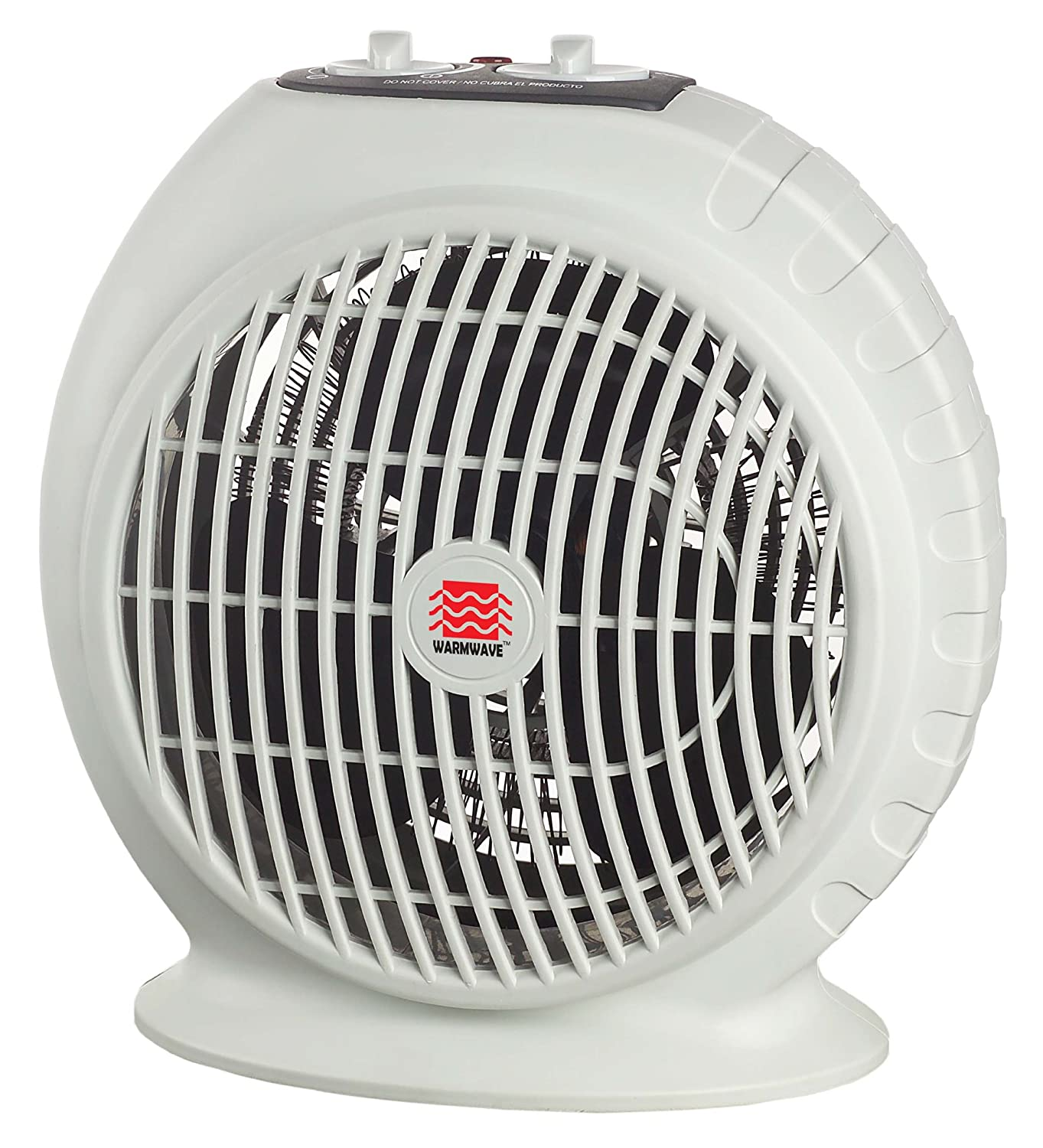 Warmwave fan portable space room heater with thermostat small cold winter new ebay - Small portable space heater paint ...