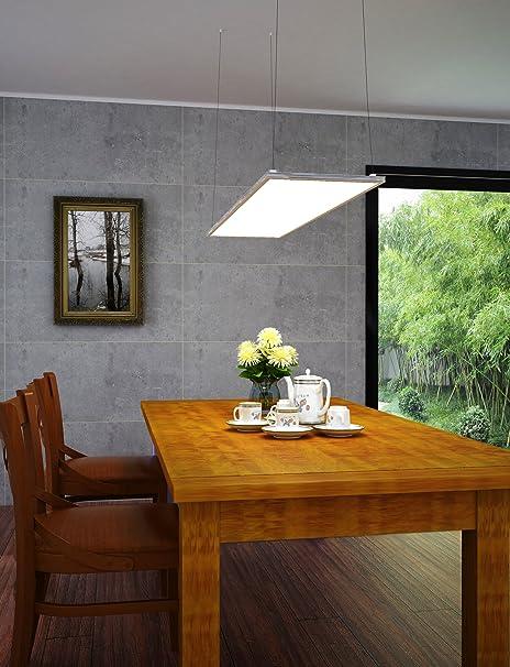 ultraslim led panel warmwei 3000lm 40w 15x90cm dimmbar. Black Bedroom Furniture Sets. Home Design Ideas