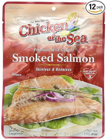 Skinless Smoked Salmon Smoked Salmon Skinless And