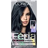 L'Oreal Paris Hair Color Feria Permanent Hair Color, 411 Downtown Denim (Color: 411 Downtown Denim)