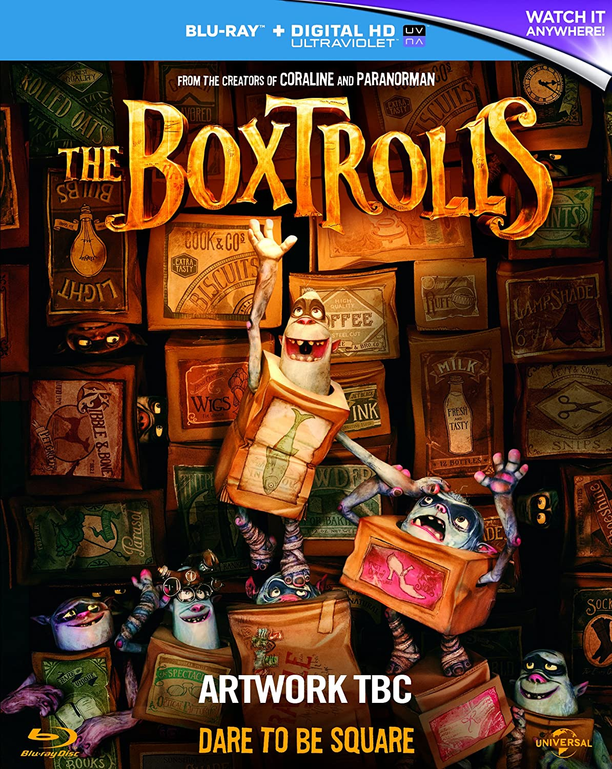 The Boxtrolls (2014) Animation | Adventure (BLURAY) added