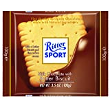 Ritter Sport Milk Chocolate with Butter Biscuit, 3.5 Ounce - 11 per case. (Tamaño: 3.5 Ounces)