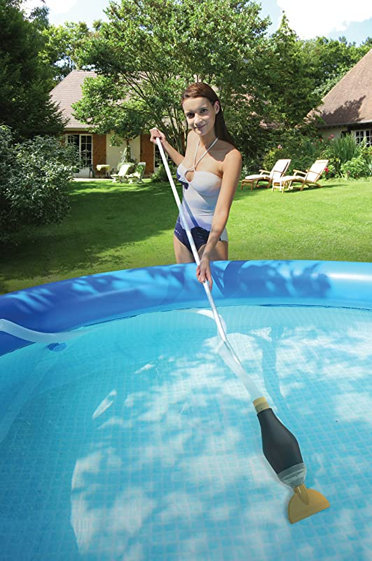 Cleaning and maintaining above ground swimming pool for Aspirateur robot intex