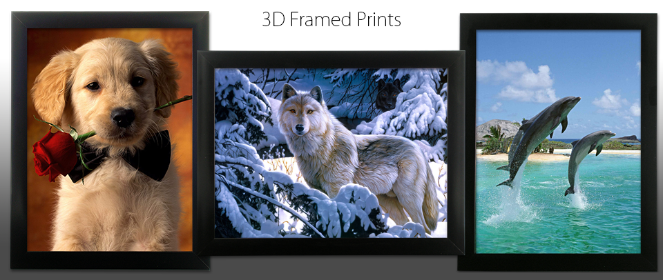 relevant gifts home and garden decor gifts shop 3d lenticular framed prints animals