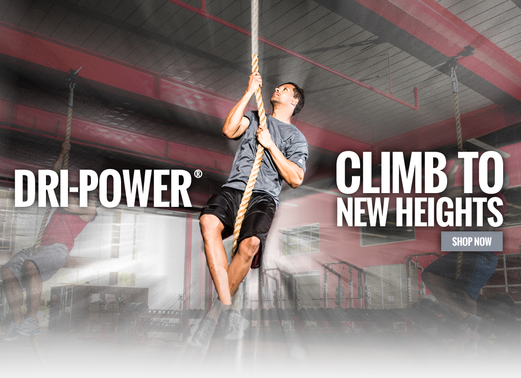 Dri-Power(R) - Climb to new heights with Russell Athletic!
