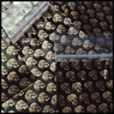 Mini Ziplock 100 2030 Gold Skulls Design 2