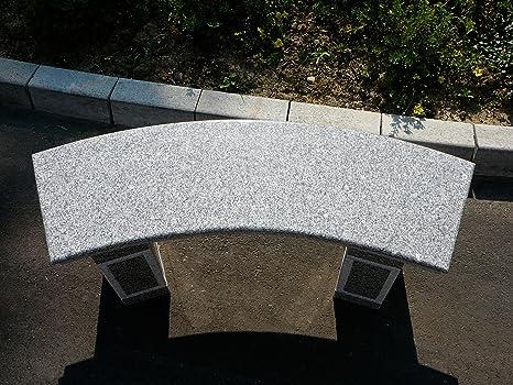 granitbank steinbank gartenbank quot patio quot hell. Black Bedroom Furniture Sets. Home Design Ideas