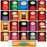 Twinings Tea Bags & By The Cup Honey Sticks Variety 40 Ct including English Breakfast, Earl Grey, More
