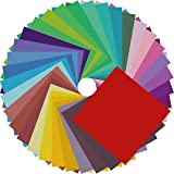 Origami Paper Double Sided Color - 200 Sheets - 20 Colors - 6 Inch Square Easy Fold Paper for Beginner (Color: A, Tamaño: 6 INCH)