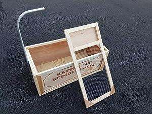 Brooder Box (Color: brown, Tamaño: 16x36x14 tall)
