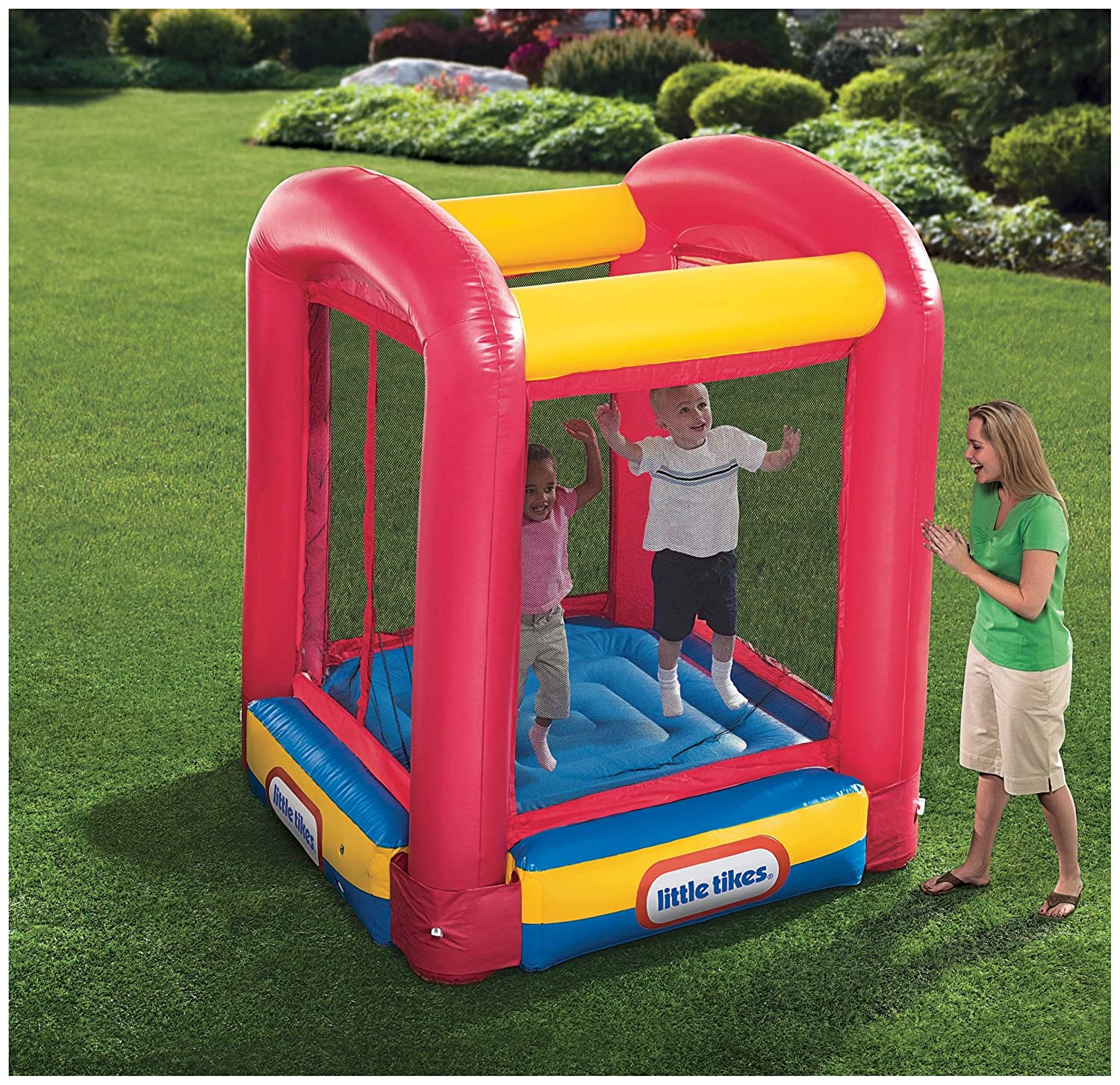 Little tikes bounce house trampoline giveaway for Little tikes house