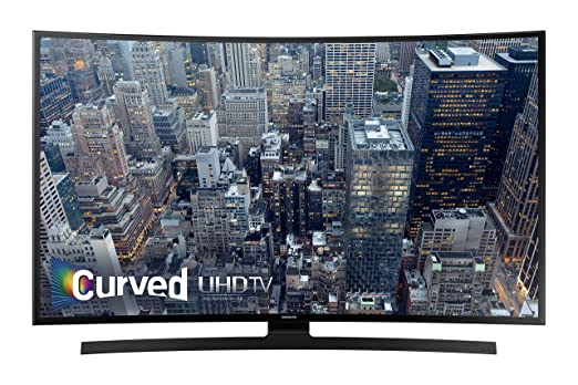Samsung UN65JU6700 Curved 65-Inch 4K Ultra HD Smart LED TV (2015 Model)