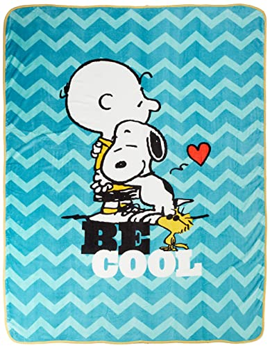 Snoopy Pillow And Throw Set : Snoopy Bedding - TKTB