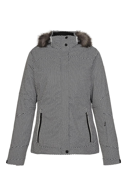 killtec – Damen Funktionsjacke in der Farbe schwarz oder grün, Winddicht – Wasserdicht – Atmungsaktiv, H/W 2015, Eliska Allover (27473) jetzt kaufen
