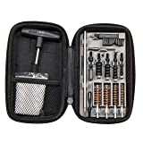 Smith & Wesson MP Compact Pistol Cleaning Kit for .22 9mm .357 .38 .40 10mm and .45 Caliber Handguns (Color: Black)