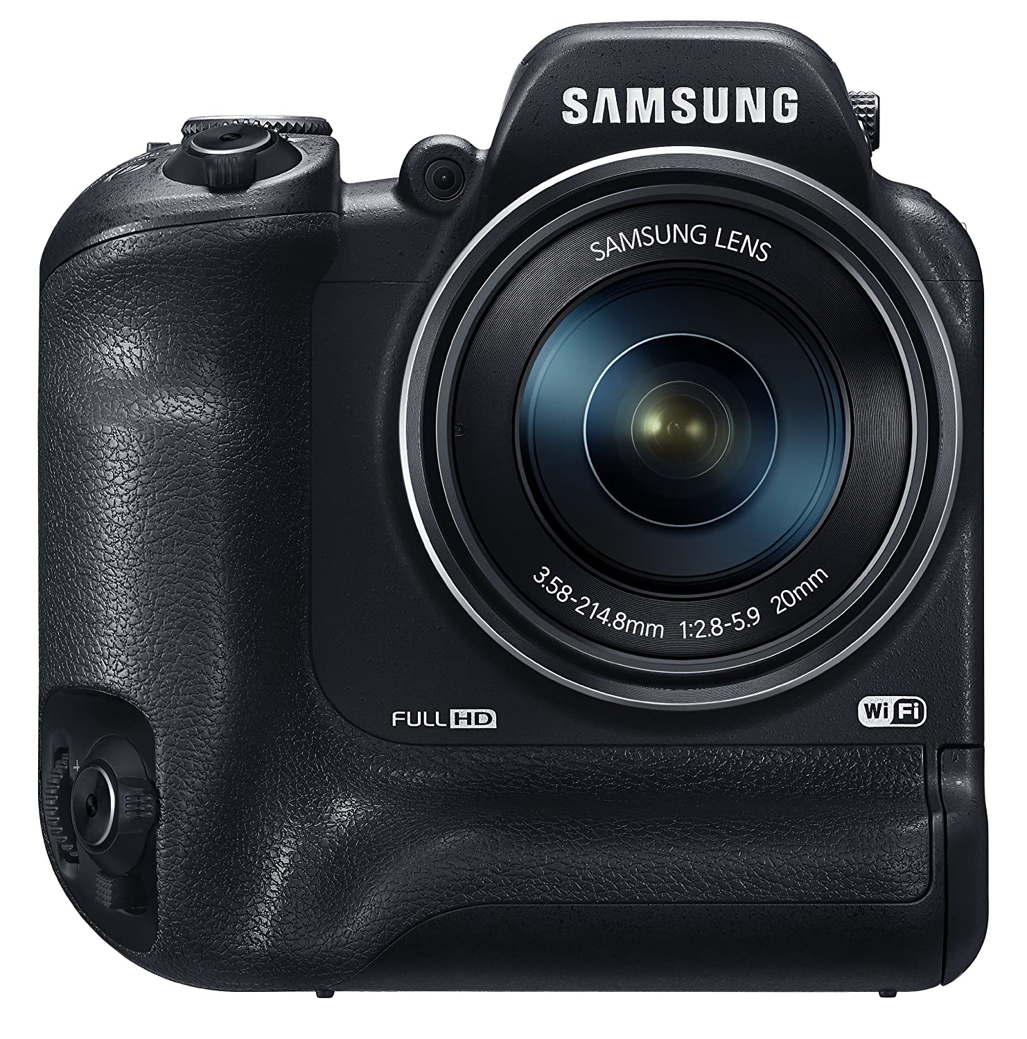 """Amazon.com : Samsung WB2200F 16.3MP CMOS Smart WiFi & NFC Digital Camera with 60x Optical Zoom, 3.0"""" LCD and 1080p HD Video (Black)"""