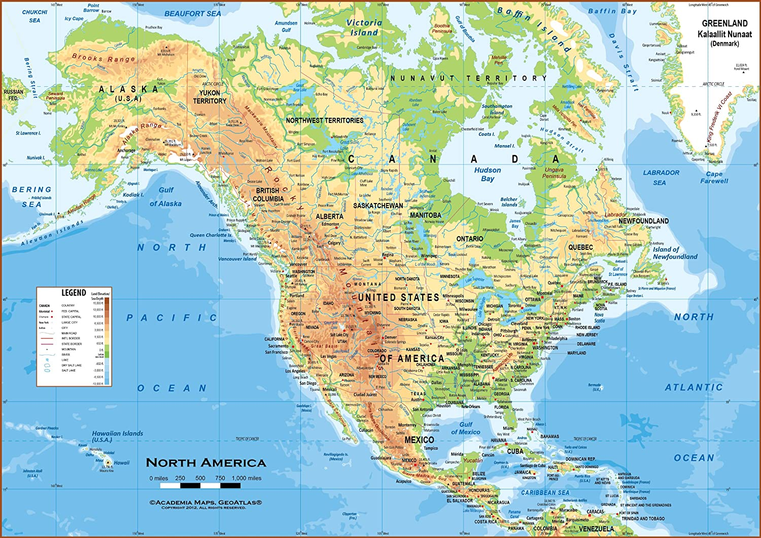 Test Your Geography Knowledge USA States Quiz Lizard Point Best - Map of us during 1500