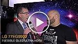 LG 77EG9900 4K Flexible OLED Ultra HDTV at CES 2015...