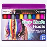 Beautiful Hair Chalk for Girls – Hair Chalk – Temporary Hair Color for Kids – Hair Chalk for Kids – Great Birthday Gift for Girls Age 4 5 6 7 8 9 10 11+ Birthday Gift for Girls – 80 Applications
