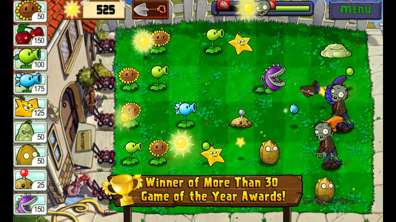 Amazon Plants Vs Zombies Appstore For Android