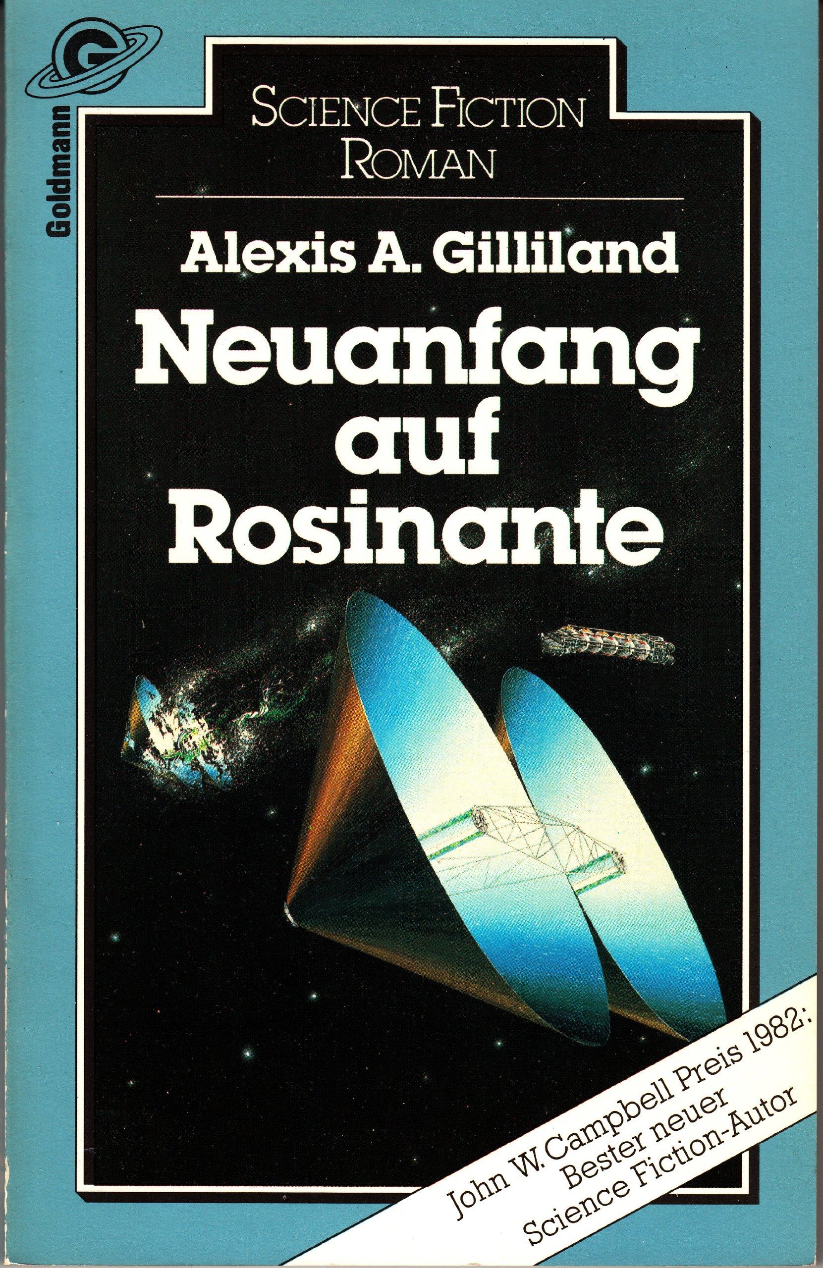Alexis Gilliland - Neuanfang auf Rosinante (Rosinante 1)