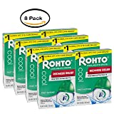 PACK OF 8 - Rohto V Redness Reliever Eye Drops (Color: Multicolor)