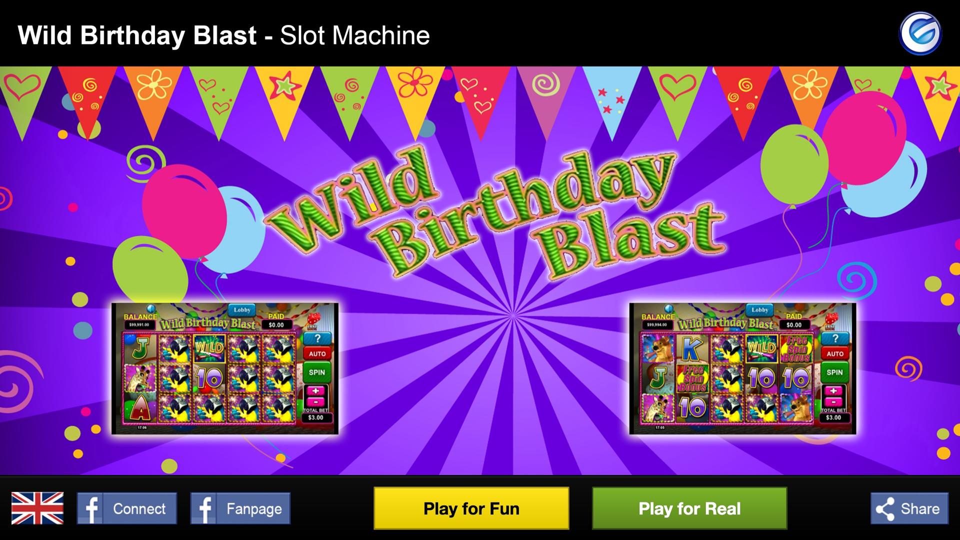 Spiele Wild Birthday Blast - Video Slots Online