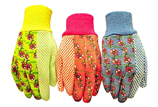 G & F 1852-3 Women Soft Jersey Garden Gloves