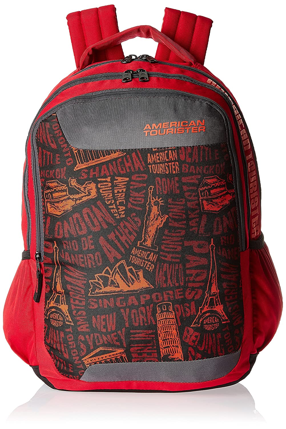 American Tourister Red Casual Backpack (CLICK 2016) By Amazon @ Rs.1,191