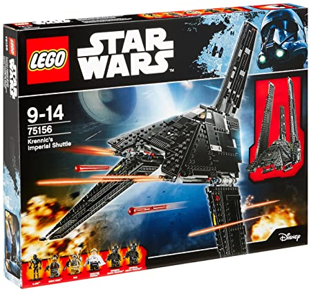 LEGO - 75156 - Star Wars - Jeu de Construction - Krennic's Imperial Shuttle