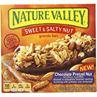 Nature Valley Chocolate Pretzel Nut Sweet and Salty