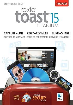 Roxio Toast 15 Titanium Mac