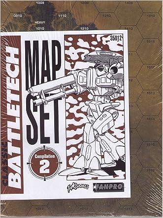 Classic Battletech: Map Set Compilation 2 (FPR35012)